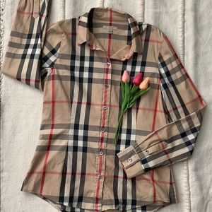 100% Authentic Burberry button down shirt
